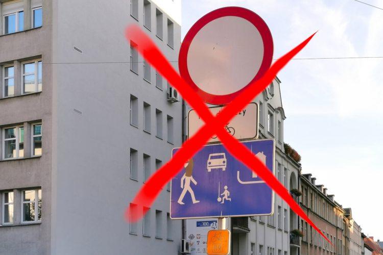 Ulica Półwiejska: czas zlikwidować deptak! Stare Miasto Poznań, parkowanie
