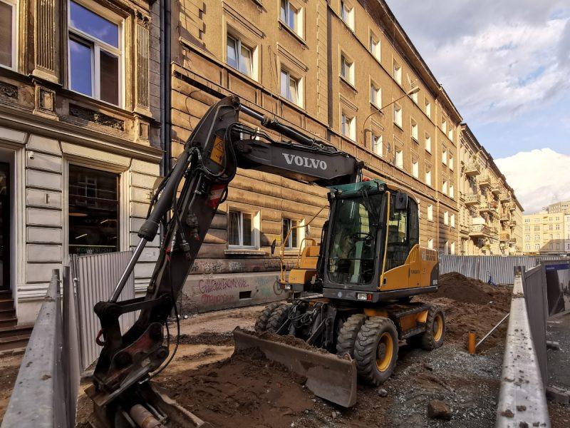 Poznań Taczaka rozkopana ulica remont utrudnienia