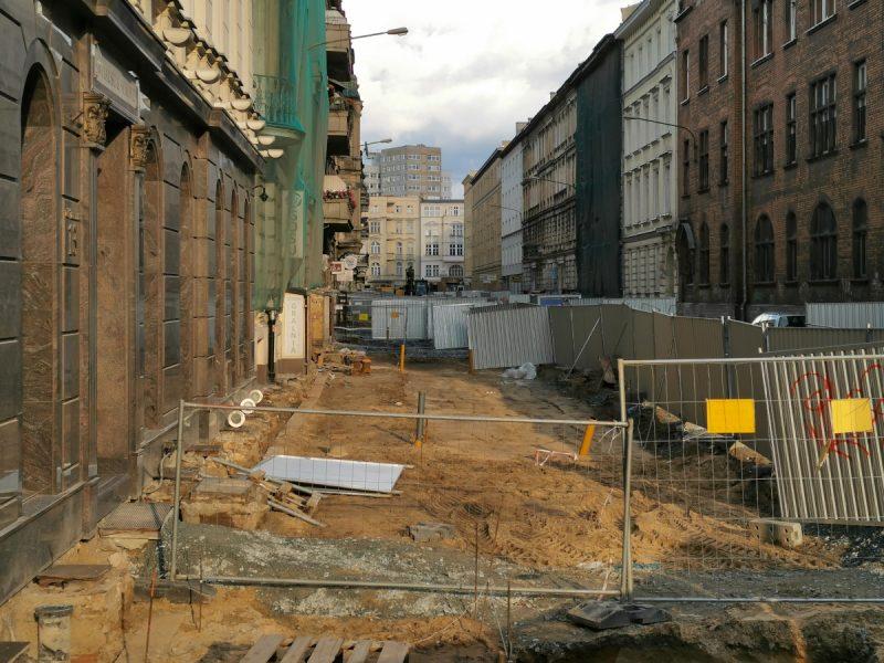 Ulica Taczaka - północna część, Projekt Centrum, odnowa