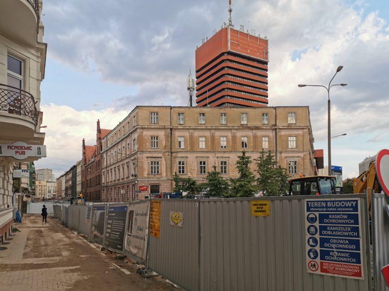 Taczaka remont widok od Kościuszki Projekt Centrum