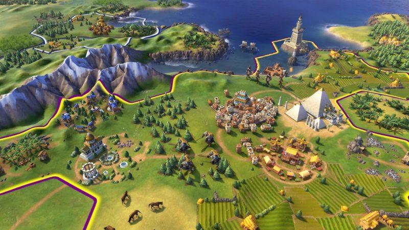 Civilisation VI gra turowa symulacja budowa cywilizacji