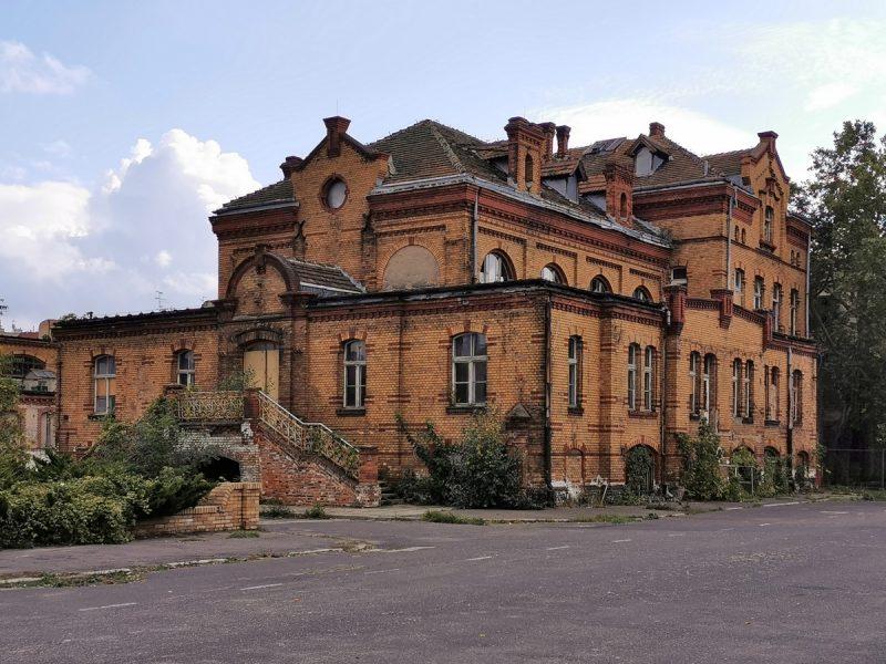 Budynek giełdy - Stara Rzeźnia w Poznaniu