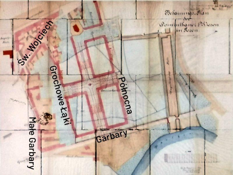 Zanim powstała Stara Rzeźnia. Projekt zabudowy Łąk Dominikańskich z 1878 roku podpisany przez miejskiego radcę budowlanego Heinricha Grüdera