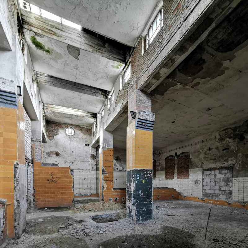 Odnowa wnętrz rzeźni będzie sporym wyzwaniem dla budowlańców