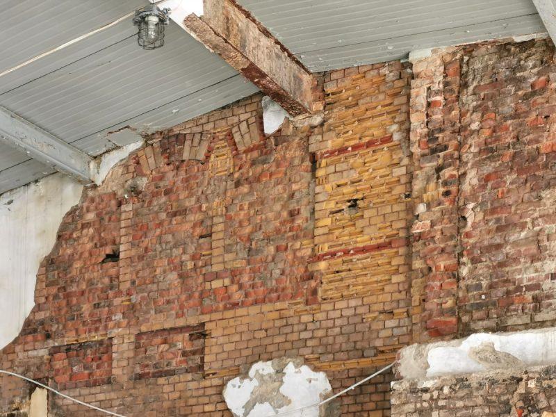 Miks cegły zwykłej i ozdobnej - Stare Miasto Poznań