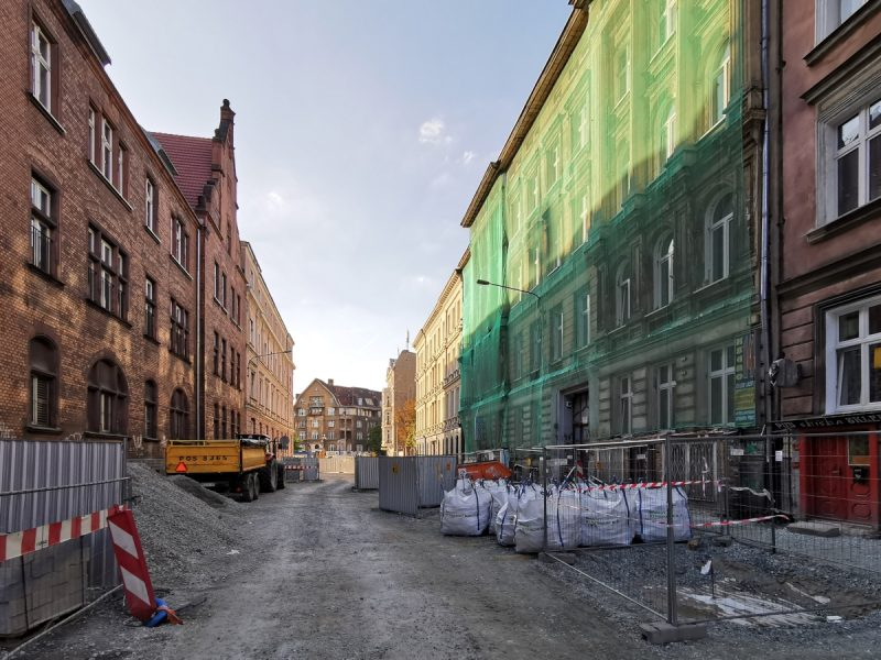 Powracamy na ulicę Taczaka. PRace budowlane w centrum Poznania