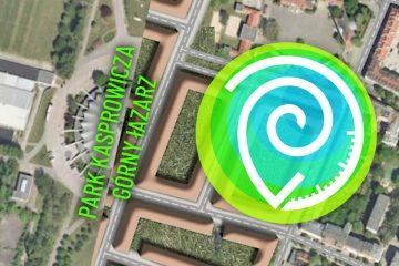 Park Kasprowicza dzisiaj to zielona oaza na Łazarzu. Jednak 100 lat temu Niemcy mieli zupełnie inny pomysł na Górny Łazarz
