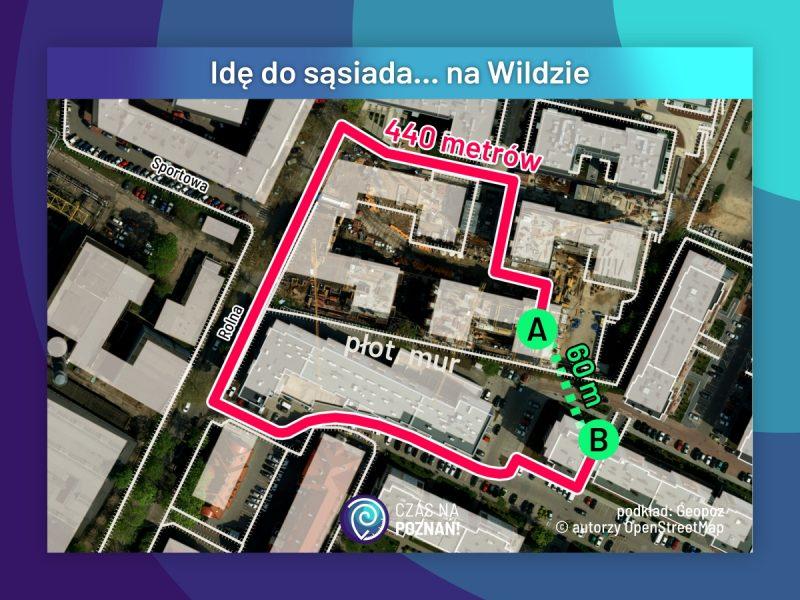 Idę do sąsiada... na Wildzie. Rejon ulicy Saperskiej, zagłębie osiedli budowanych bez ładu i składu