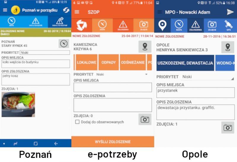 Poznań w porządku - ta sama aplikacja, co e-potrzeby.pl i Opole. Abakus