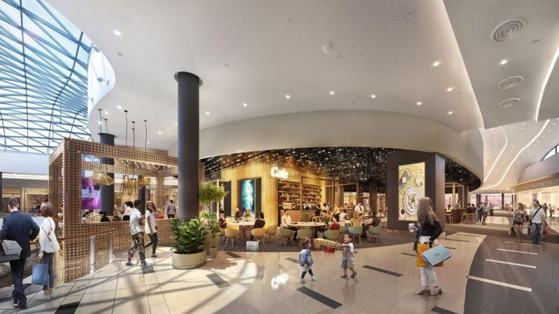 Wizualizacja nowej strefy w CH Avenida. Mniej pustostanów, więcej otwartej przestrzeni