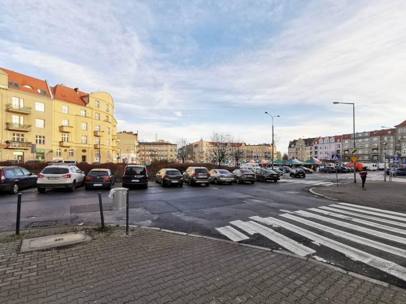 Widok od ulicy Lodowej