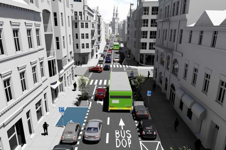 Tak ma wyglądać ulica Garbary po zmianach. Buspas, nowa nawierzchnia, zieleń