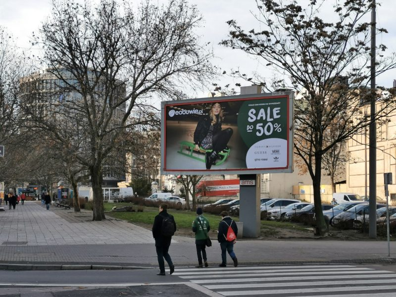 Smutny obraz tej części centrum Poznania. Ulica 27 Grudnia, Stare Miasto