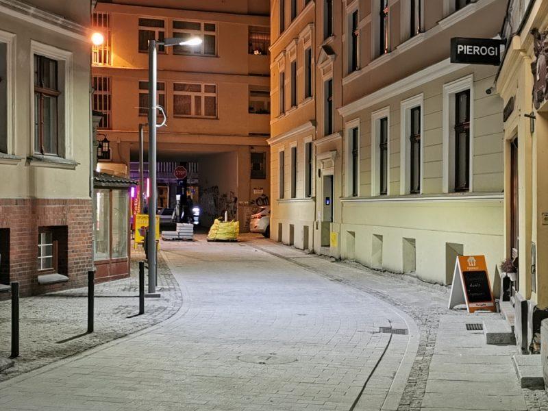 Okolice skrzyżowania z ulicą Święty Marcin - odnowa ul. Taczaka i Garncarskiej