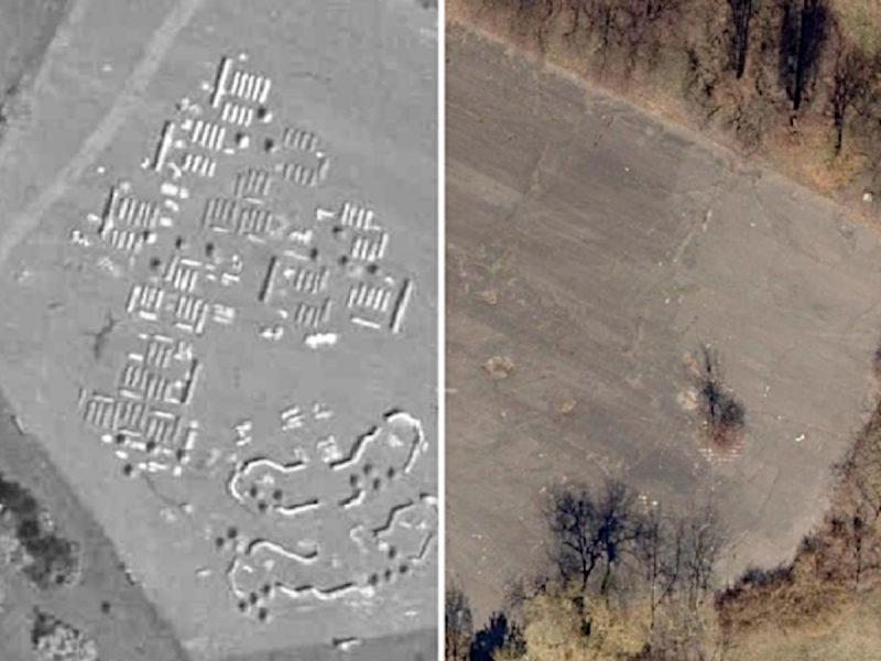 Porównanie 1995-2018: makieta osiedli ratajskich stojąca przy Moście Królowej Jadwigi. Fot. GEOPOZ
