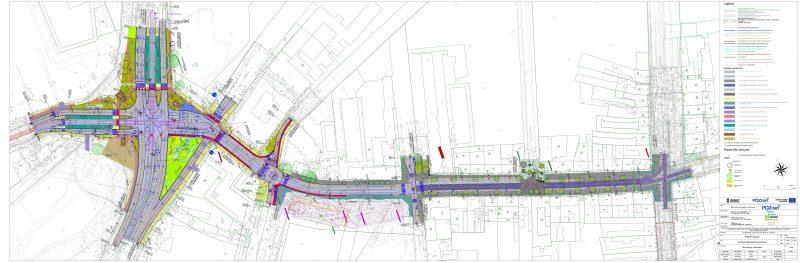 Koncepcja projektowa tramwaju w ulicy Ratajczaka. Fot. Urząd Miasta Poznania