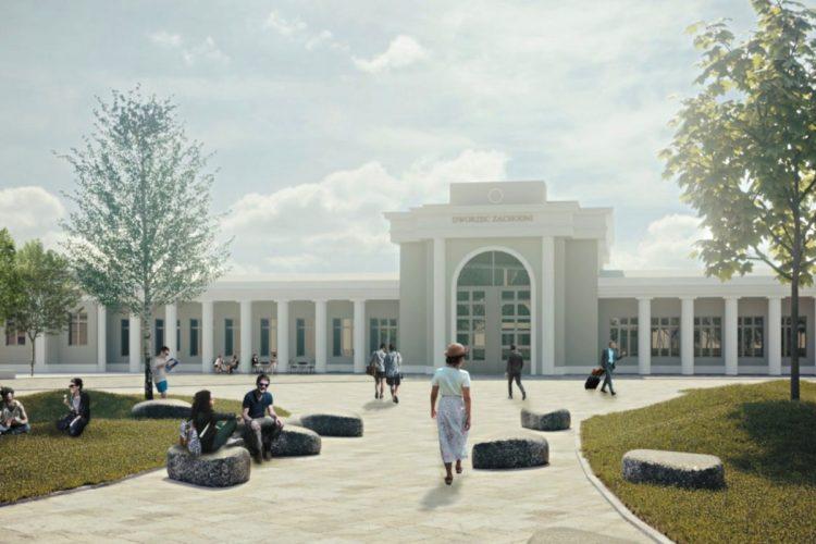 Konkurs studencki. Dworzec Zachodni - odnowa placu przed dworcem