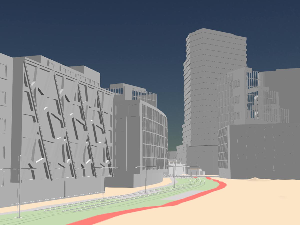 Wolne Tory: zobacz trójwymiarowy model dzielnicy. Kiedy rozpoczną się inwestycje?
