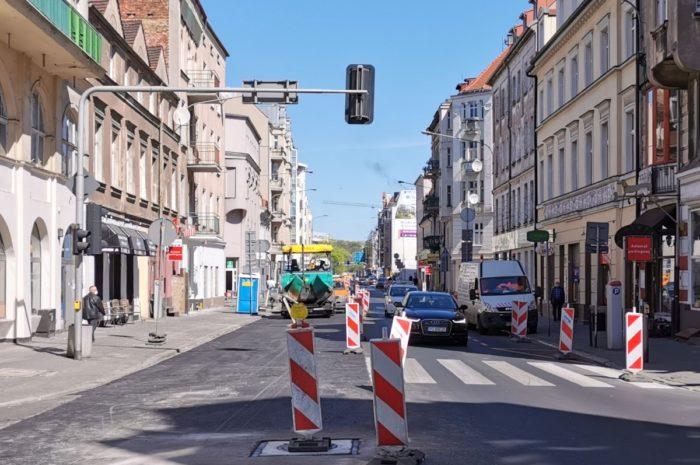 Koniec szóstego etapu remontu ulicy Garbary