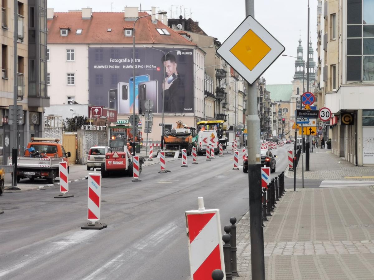 Odnowa ulicy Garbary. Rusza piąty etap remontu, rozstrzygnięto przetarg