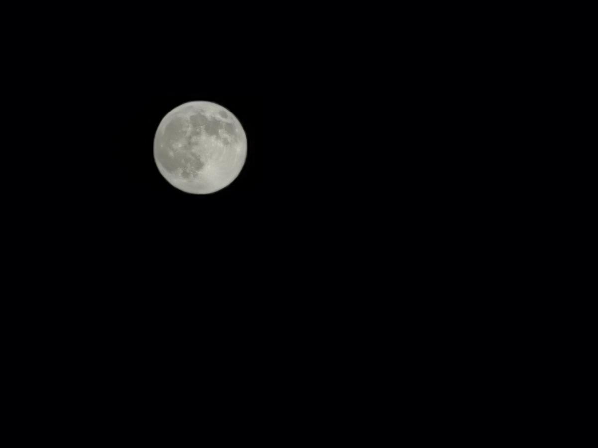 Superksiężyc w pełni nad Poznaniem – zdjęcie dnia 8.04.2020