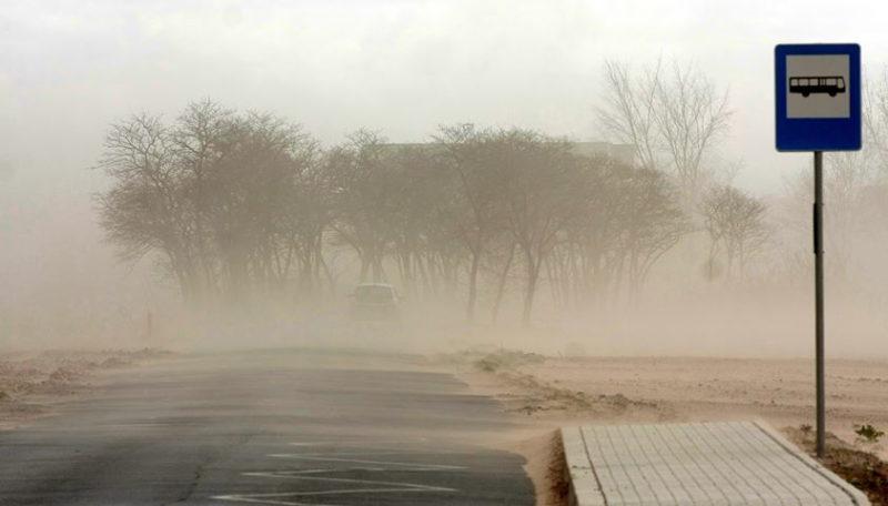 6 kwietnia 2020: zamieć pyłowa w Rabowicach pod Swarzędzem