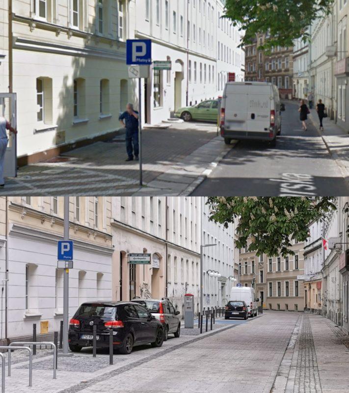 Przebudowana ulica Garncarska