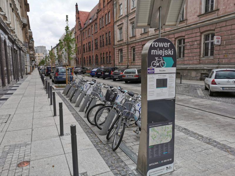 Stacja rowerów miejskich Nextbike przeniesiona z ulicy Kościuszki