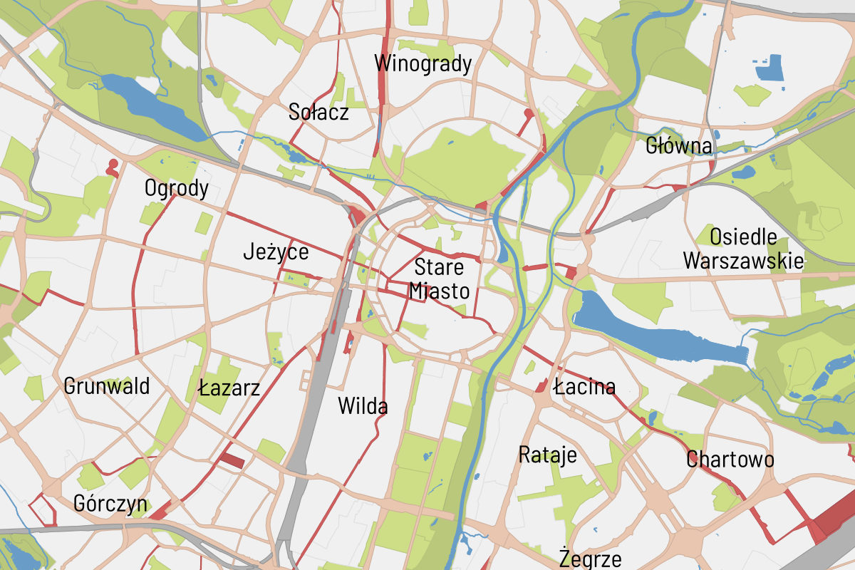 Aktualne studium uwarunkowań i kierunków zagospodarowania przestrzennego Poznania z 2014 roku