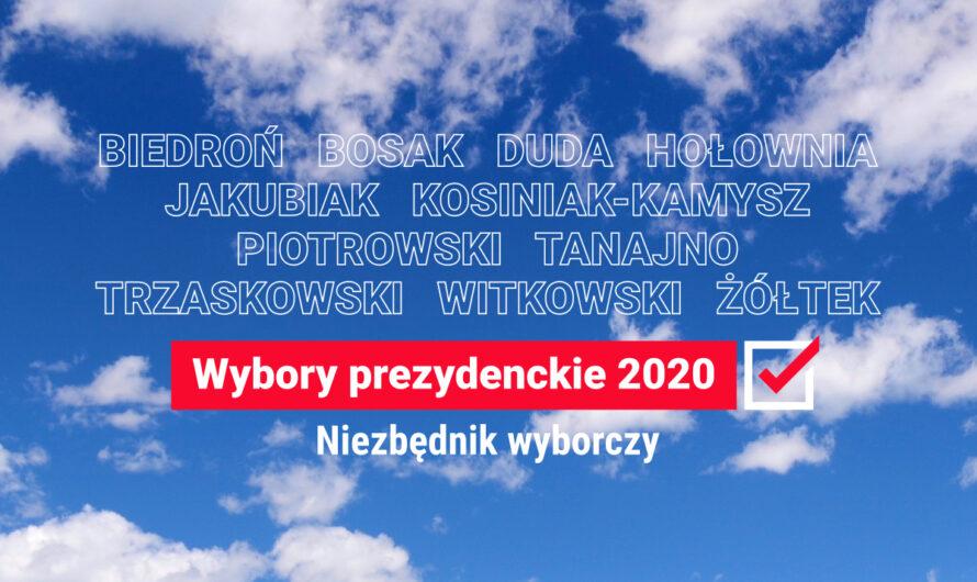 Wybory prezydenckie 2020. Niezbędnik wyborczy: jak głosować? I na kogo?
