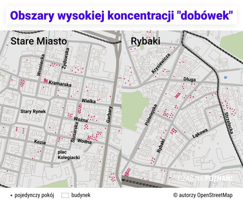 """Dwa obszary wysokiej koncentracji najmu krótkoterminowego: """"średniowieczne"""" Stare Miasto i Rybaki"""
