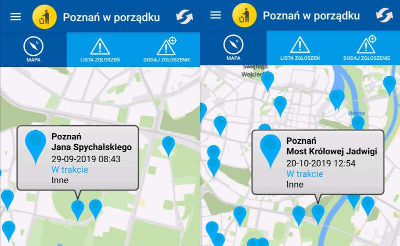 """Zgłoszenia w aplikacji """"Poznań w porządku"""" rozpatrywane od prawie roku"""
