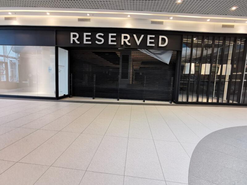 Z Galerii Malta zniknęły odzieżowe sklepy należące do LPP
