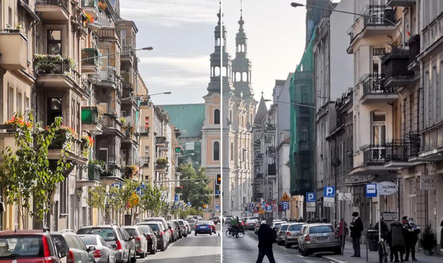 Garbary przed i po zmianach: kroczek w dobrą stronę [FOTORELACJA]