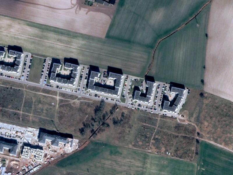 Ekologia na osiedlu Zacisze w Zalasewie: parkingi powierzchniowe, przykryte koryto rzeki Michałówki
