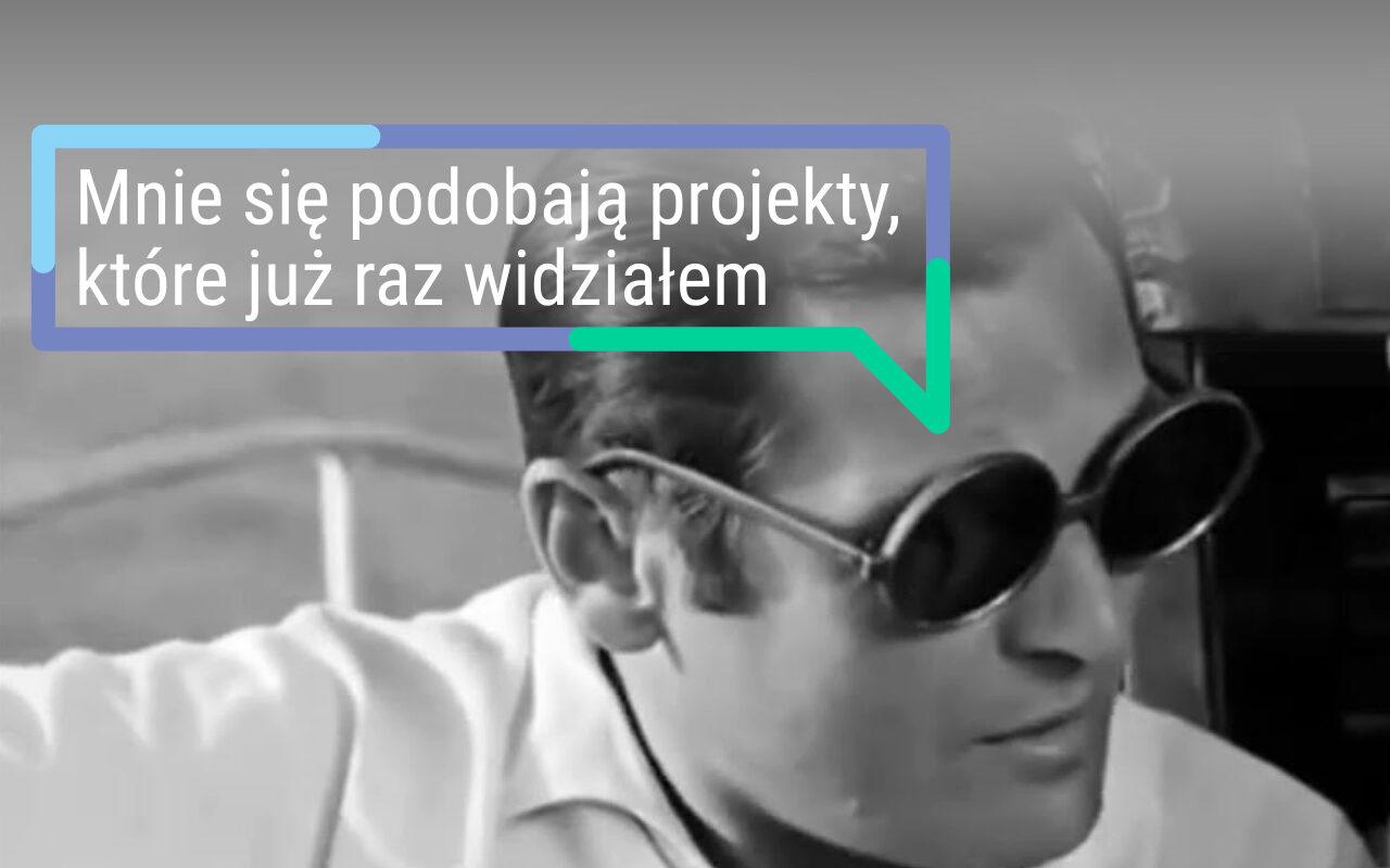 """Wyniki PBO 2021. Siódmy sukces """"trenera senioralnego"""", czyli dlaczego dominują te same zadania? Źródło kadru: film Rejs (1970, reż. Marek Piwowski)"""