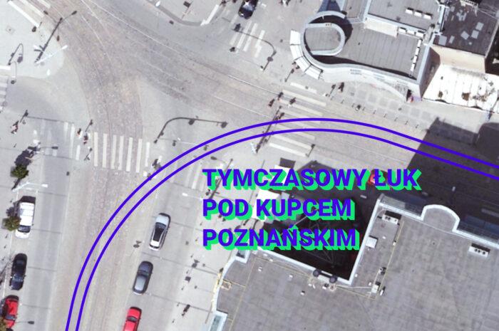 Pod Kupcem Poznańskim powstanie tymczasowy łuk tramwajowy