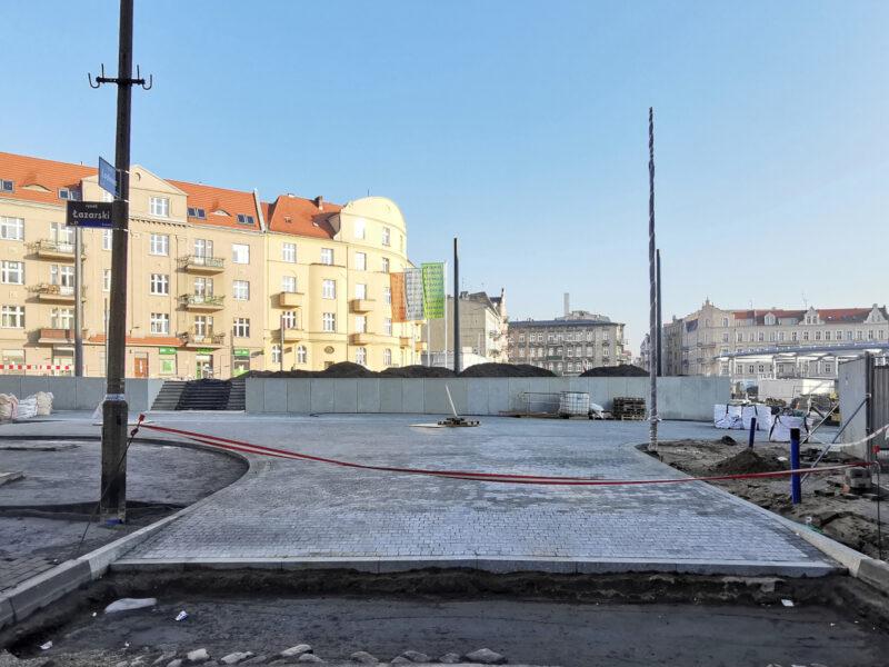 Wlot ulicy Lodowej przybierze formę wyniesionego skrzyżowania. Inwestycje w Poznaniu: Łazarz