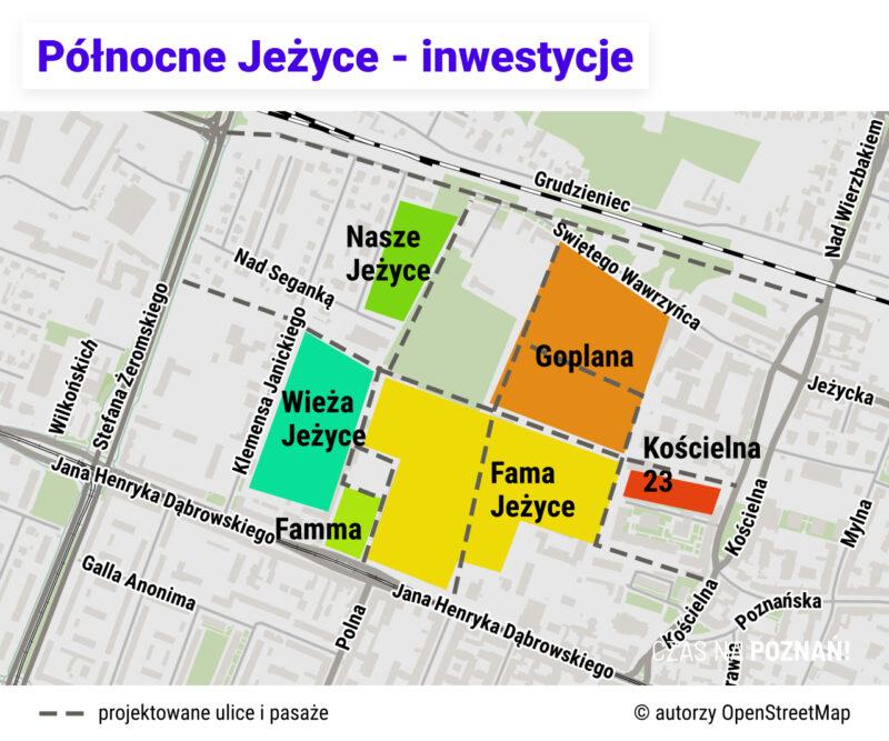 Inwestycje mieszkaniowe na północnych Jeżycach